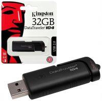 Kingston DataTraveler 104 32GB USB 2.0 Flash Drive, Retail Box, 1 year warranty
